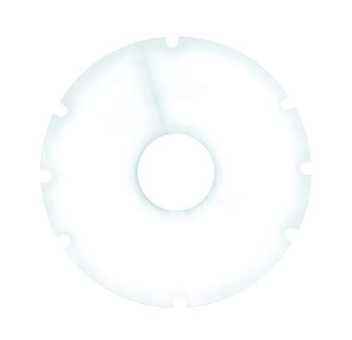 TheraMedical Speichenschutz transparent, 24 Zoll, 8 Aussparungen, o. Befestigungslöcher, 1 Stück