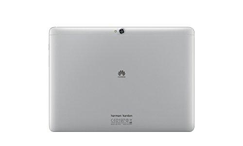 Huawei Mediapad M2 10 Premium - Tablet de 10.1 Pulgadas FullHD (WiFi, Procesador Octa-Core HiSilicon Kirin 930, 3 GB de RAM, 64 GB de Memoria Interna, Android 5.1 Lollipop + EMUI 3.1), Color Plata