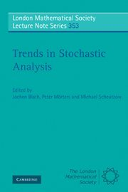 Trends in Stochastic Analysis (London Mathematical Society Lecture Note Series, Series Number 353)の詳細を見る