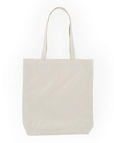 BAGGU Merch Tote, Simple and Easy Canvas Tote Bag, Canvas