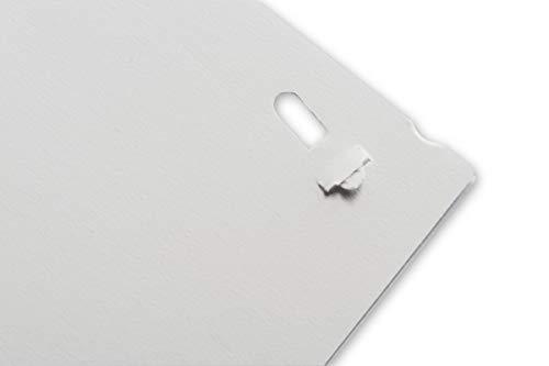 Philippi Design Hefter PUSH klammerlos, Papier abheften ohne Heftklammern bis zu 6 Blatt - 2