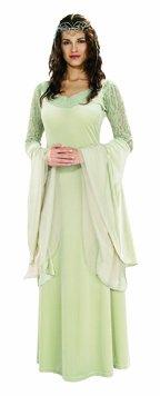 Herr der Ringe Damen Kostüm Elfe Arwen Mittelalter Prinzessin Larp
