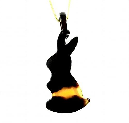 【創業146年べっ甲の菊池セール中】 本べっ甲 ペンダントうさぎー301【全商品セール中
