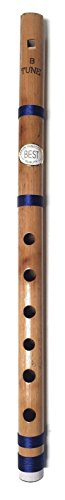 Indische Bambusflöte für Anfänger und Profis, 35,6 cm, Blockflöte, Bansuri