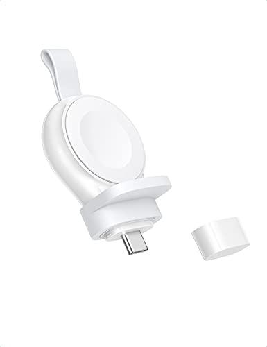 UGREEN Cargador Inalámbrico para Apple Watch MFi Certificado Cargador USB C Portátil Magnético iWatch Carga Rápida Cargador Wireless para Apple Watch Series 6 5 4 3 2 1 SE 44 mm 42 mm 40 mm 38 mm