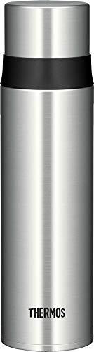 THERMOS 4037.205.050 Thermosflasche Ultralight, Edelstahl mattiert 0,5 l, extrem leicht, nur 275 g, 16 Stunden heiß, 24 Stunden kalt