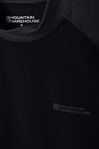 Mountain Warehouse Mens UV Rash Vest – UPF50+ UV Protection Rash Guard, Lightweight, Fast Drying Rash Top, Stretchy…