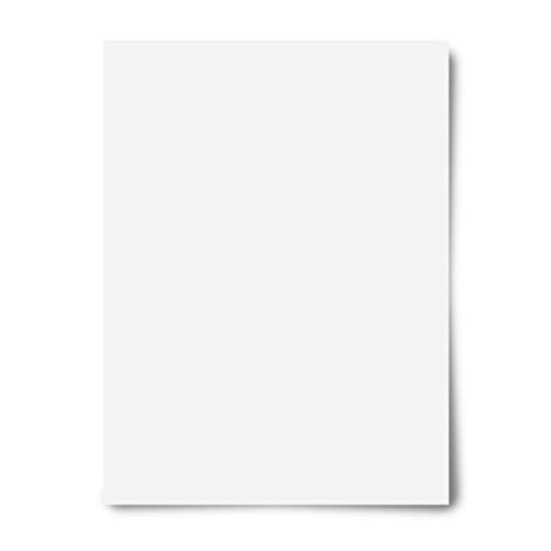 Office Depot Poster Boards, 22in. x 28in, White, Pack Of 10, 23408
