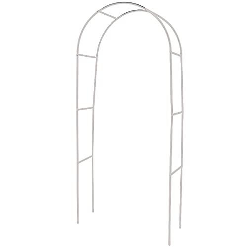 ZXYSR Felsenbirne Obelisk, Gartenbogen Metallgartenlauben, Kletterpflanze im Freien Hochzeit Patio Spalier für Garten Brautparty Dekor,13mm