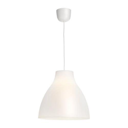 IKEA MELODI -Pendelleuchte weiß - 38 cm