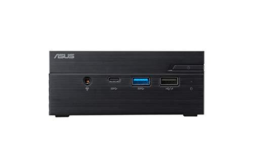 ASUS PN40-BC519MC Mini Desktop PC (Intel Celeron N4020, scheda grafica Intel UHD integrata, memoria DDR4 da 4 GB, SSD eMMC da 64 G, senza sistema operativo) nero