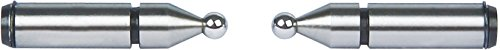INSIZE 7391-T6 - Puntas de bola para micrometro de dientes (diámetro de 3,5 mm)