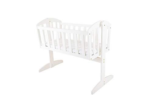 East Coast Vienna Swinging Crib (White)