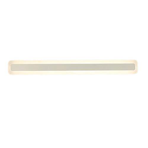 FEANG Luz de Espejo 120/100/80/60 cm LED LED Luz Moderno Vanity Mirror Lights Baño acrílico sobre Espejo Iluminación de Pared...