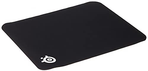 SteelSeries QcK - Gaming-Mauspad - Stoff - Gummiunterseite - Schwarz (320mm x 270mm x 2mm)