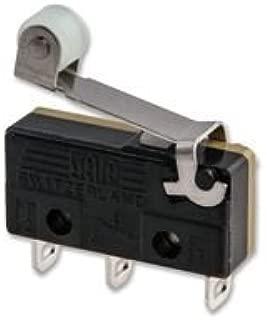 SAIA-BURGESS XCG3-S1Z1 Micro Switch, Roller Lever, 1CO, 6A 250V