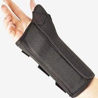 FLA PROLITE FLA Professional Wrist Splint with Abducted Thumb. Black. Left. Medium
