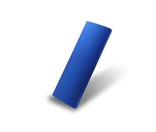 Disco rigido esterno da 2 TB, disco rigido portatile esterno Type-C/USB 2.0 HDD per PC laptop Mac (2TB-BLU-D)