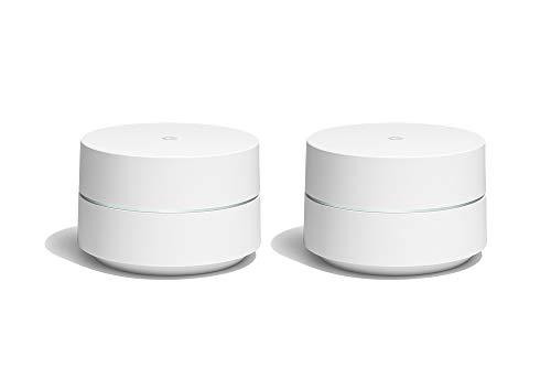 Google WiFi Pack de 2 Routeurs sans Fil Bluetooth Blanc GA00190-FR