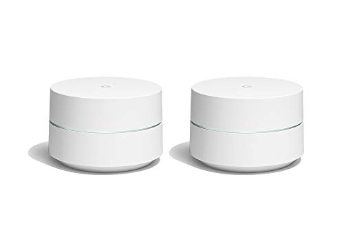 Google WiFi Pack de 2 Routeurs sans Fil Bluetooth Blanc GA00190-FR