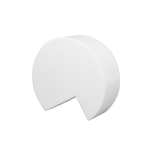 8Seasons 32372s Lampe d'extérieur, intégré, blanc, T 15 cm