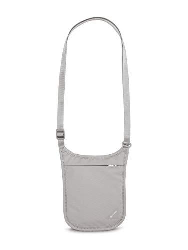Pacsafe Coversafe V Portadocumentos de Cuello, 18 cm, Gris (Grey)