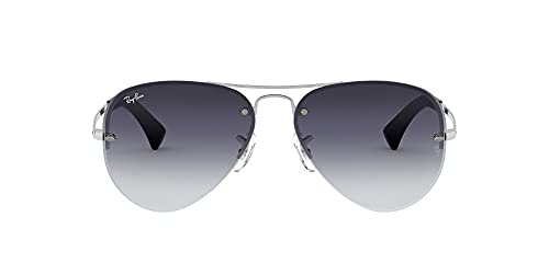 Ray-Ban RB 3449 Gafas de Sol, Silver, 59 para Hombre