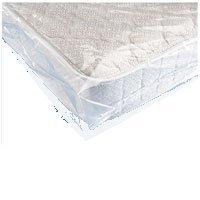 IMBALLAGGI 2000 - Sacco per Materasso Matrimoniale Trasparente - Custodia per Materasso in Plastica Resistente per Trasporto e Trasloco - 195x230 cm