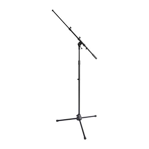 On Stage Stands MS7701TB Telescoping Euro Boom Mic Stand - Zwart