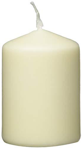 Jeden Tag 2 Stumpenkerzen 80x55mm creme, 289 g, 227604