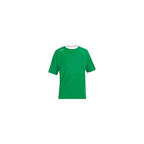 Tranmere Youth Soccer Jersey - Youth Small, Green/White