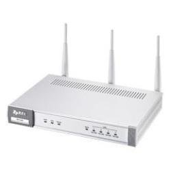 ZYXEL N-4100 Business WLAN Professional Hotspot-Gateway/Router 802.11n 4fach-Switch inkl. Netzwerkdrucker SP300