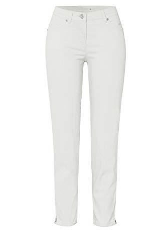 Toni Damen 7/8-Hose Perfect Shape Zip 7/8 38 perlmuttfarben