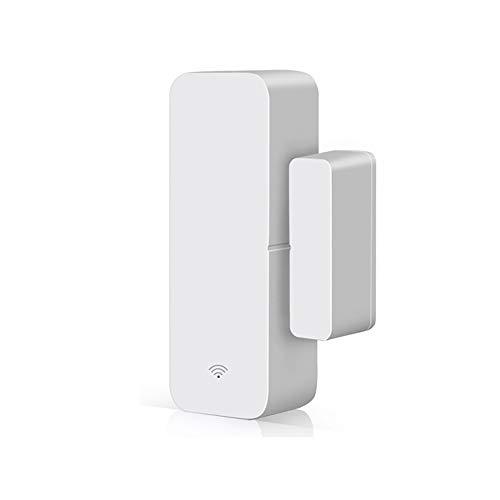 KCCCC Alarma de la Puerta Sensor de Ventana de la Puerta El Sistema de Alarma de la Puerta de WiFi detecta la Puerta de Garaje Abierta y Cerrada para la Seguridad de los niños