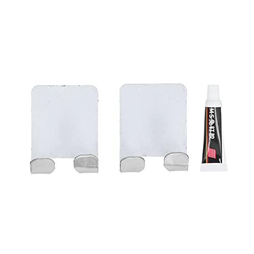 Soporte para maquinilla de afeitar, ganchos adhesivos de estilo simple a prueba de agua para cocina para baño para dormitorio