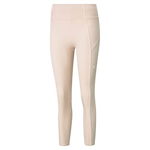 PUMA Damen Studio Rib Side HW 7/8 Tight Leggings, Cloud Pink, XS