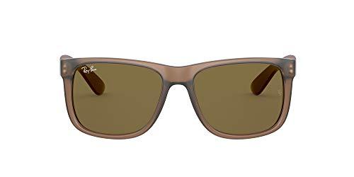 Ray-Ban Rb4165f Justin Gafas de sol cuadradas de ajuste asiático