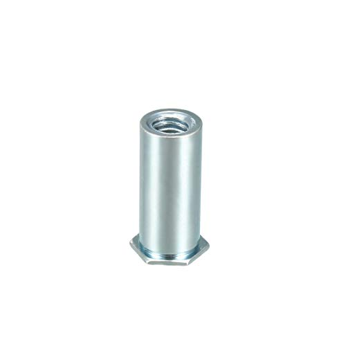 3//4-10 Coarse Thread Grade 2 Regular Square Nut Low Carbon Steel Zinc Plated Pk 250