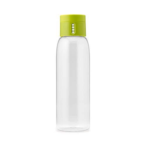 Joseph Joseph Dot Botella para hidratación, Verde, 7 x 7 x 23.50 cm