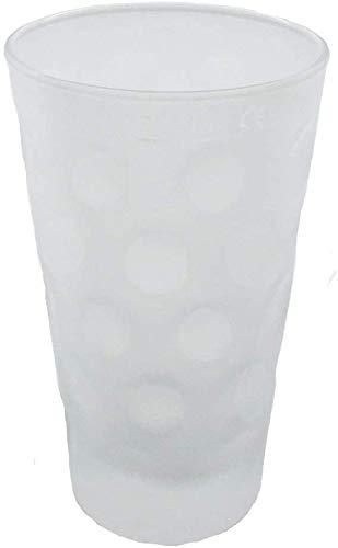 6 x 0,5 L Dubbeglas (satiniert/matt) für Pfälzer Schorle - Original Pfalz Schoppenglas Weinglas Weißweinglas Schorleglas Saftglas