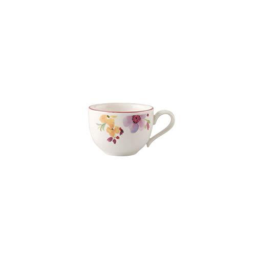 Villeroy & Boch Mariefleur Basic Mokka-/Espressotasse, 80 ml, Höhe: 4,5 cm, Premium Porzellan