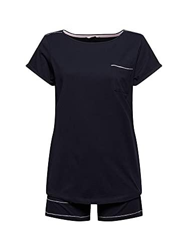 ESPRIT Jersey-Pyjama aus 100{d49445a441feeb7d9f96a58c09bbbb8ca7b734db420212b619ffb7d82af26fb1} Organic Cotton