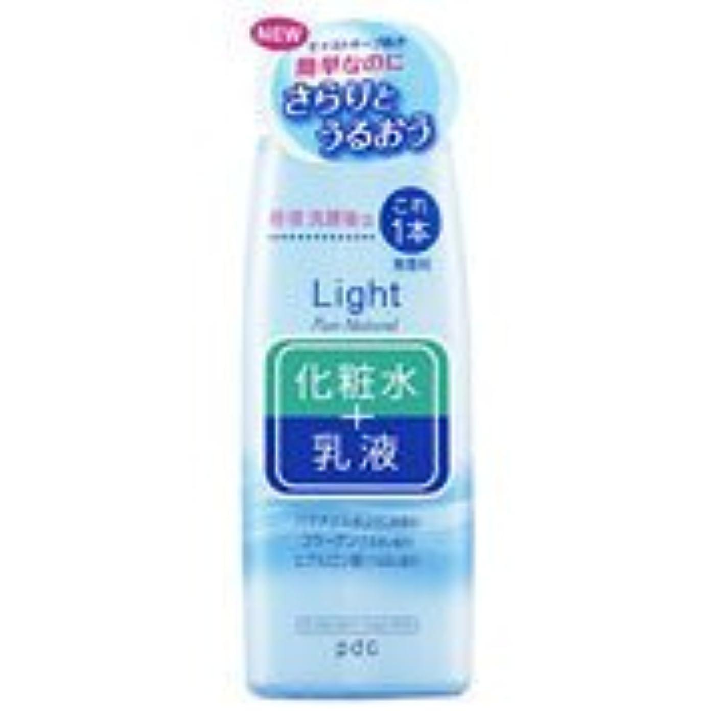 持参優遇色ピュアナチュラル エッセンスローション ライト(210mL)