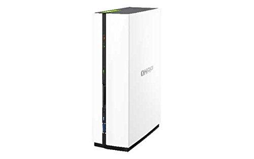 Qnap TS-128 1.1GHz 1-Bay NAS Server Bundle mit 3TB HDs 7200U/min