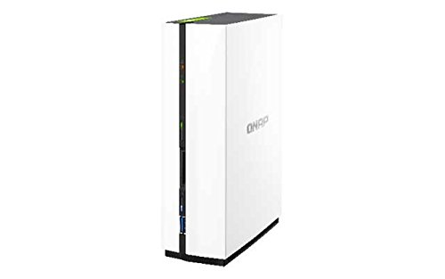 Qnap TS-128 1.1GHz 1-Bay NAS Server Bundle mit 3TB HDs 7200U/min