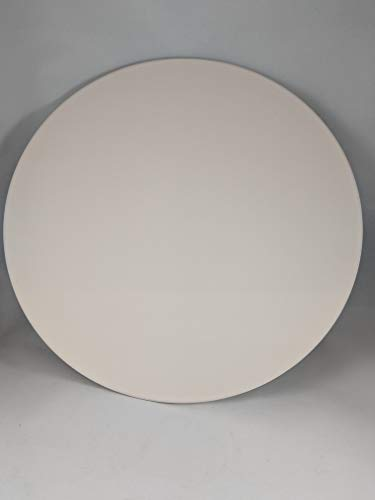 Round Pizza Baking Stone 9quot Diameter White