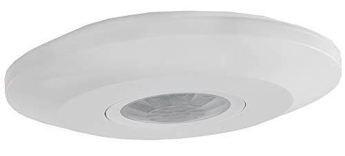 Infrarot Decken Bewegungsmelder 360° Ab 1 Watt LED geeignet bis 6m Zeit einstellbar Weiß
