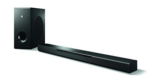 Yamaha MusicCast BAR 400 Sound Bar with Wireless Subwoofer and Alexa Connectivity - Black (Renewed)