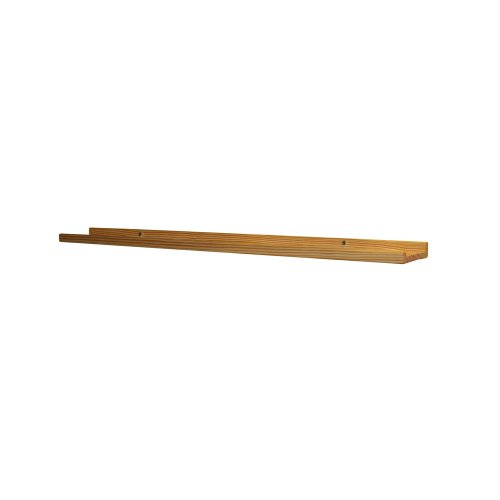 InPlace Shelving 0191826 Stafford Wall Mountable Shelf, Unfinished, 31-Inch Wide by 4-Inch Deep by 5-Inch High