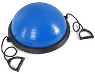 SKY-TOUCH New Yoga Ball Balance Trainer Yoga Fitness Strength Exercise Workout w/Pump Blue